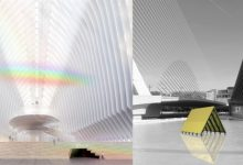 Un arcoíris de interior y un