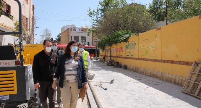 Avanzan las actuaciones del proyecto de Entornos escolares seguros en València