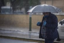 Precipitacions generalitzades i temperatures elevades aquest diumenge en la Comunitat Valenciana