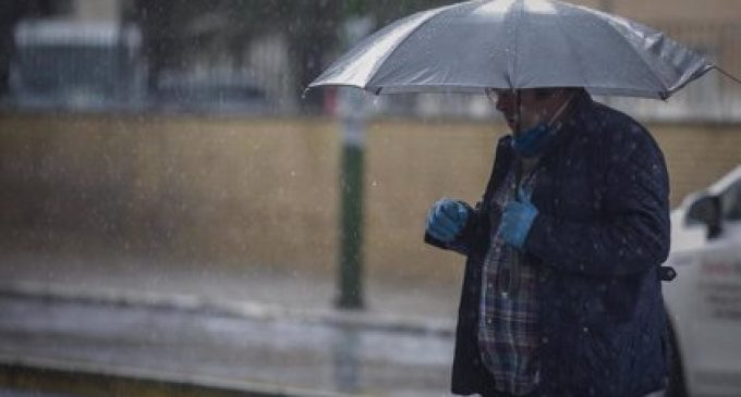 Precipitacions disperses en el litoral i temperatures en descens aquest diumenge a la Comunitat Valenciana
