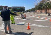 Massamagrell mejora la pintura vial de sus calles