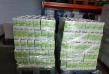 La Fundació Isabel i Caixa Rural se solidaritzen amb el punt d'aliments de Torrent donant 1.000 kg d'arròs i 5.472kg de llet