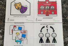 Rafelbunyol señalizará los espacios públicos con pictogramas para personas con autismo y problemas de comunicación
