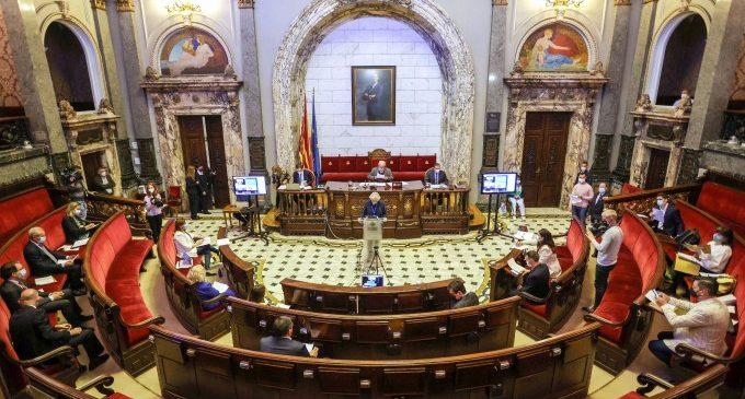 L'àmplia majoria del ple aprova l'Acord Marc Estratègic València 2030