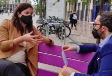 """Sandra Gómez:  """"el gran deute que tenia Espanya amb la ciutat de València era soterrar les vies del Parc Central"""""""