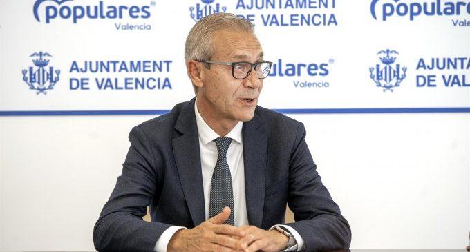 """El PP denuncia que València """"ha perdut més de 9.200 places d'aparcament en els últims cinc anys"""""""