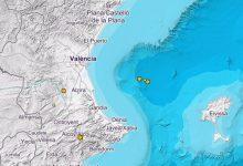El Golfo de València registra dos terremotos de magnitud 2,6 y 2,5