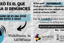 Lambda insisteix en la necessitat de denunciar totes les agressions per LGTBfòbia