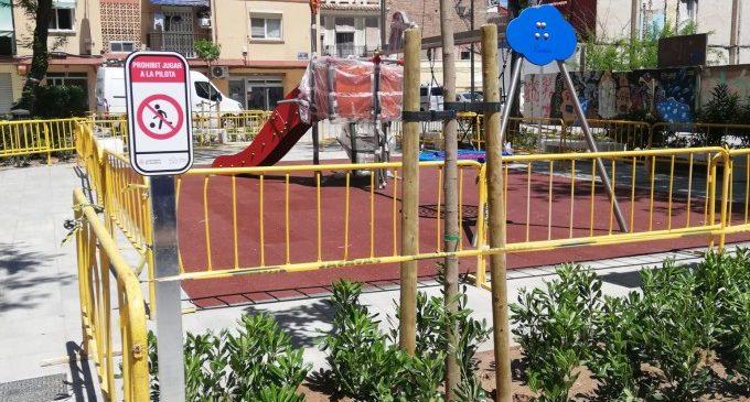 Concluye la remodelación del espacio ajardinado de la plaza de Cabaluig en el Cabanyal