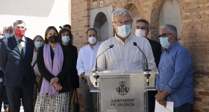 Joan Ribó ha participado en el homenaje a la figura de Joan Peset Aleixandre