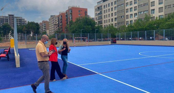 València renova les instal·lacions esportives elementals dels barris de la ciutat