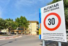 Alfafar implanta la limitació a 30km/h