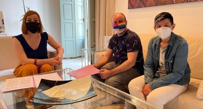 La Diputació mantiene la colaboración con Lambda para desarrollar el Plan Diversia contra la LGTB-fobia