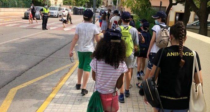 La escuela de Verano 2021 de Burjassot arranca el 31 de mayo con la matrícula telemática