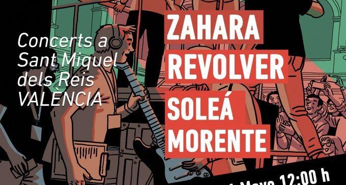 'A la llum de la lluna' posa a disposició del públic les entrades de Zahara, Revólver i Soleá Morente