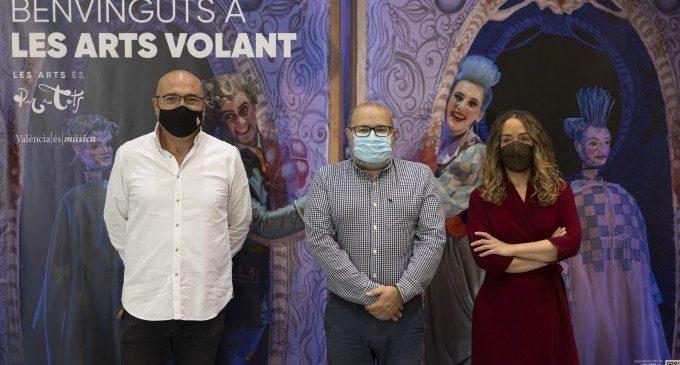 Les Arts Volant, un año más, acercan la ópera a los municipios valencianos