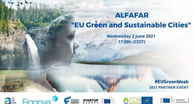 Alfafar aposta per la sostenibilitat a les ciutats i participa en la Setmana Verda Europea