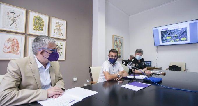 Gandia inicia les esperades obres de remodelació i ampliació del pont de l'avinguda d'Alacant