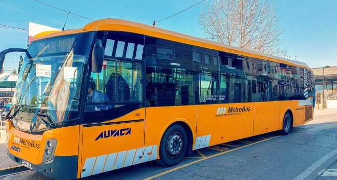El nou Bono 10 de Metrobus suma 2.400 usuaris diaris en els primers mesos