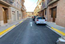 Bonrepòs i Mirambell finaliza la adecuación de las calles Del Mig y Macarella