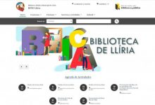 La Xarxa de Biblioteques Públiques de Llíria estrena pàgina web