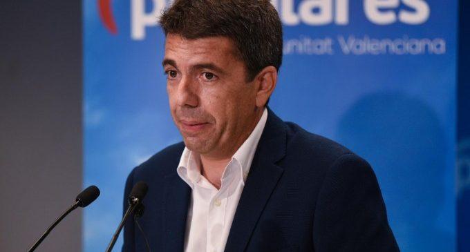"""Carlos Mazón presenta la seua candidatura a liderar el PPCV amb un """"projecte per a tots i per a guanyar"""""""
