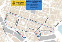 Aquestes són els carrers de València tallats per la carrera 5K del diumenge