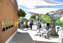 EL CEIP Jaume I de Paiporta estrena un nuevo patio coeducativo para el alumnado de Infantil