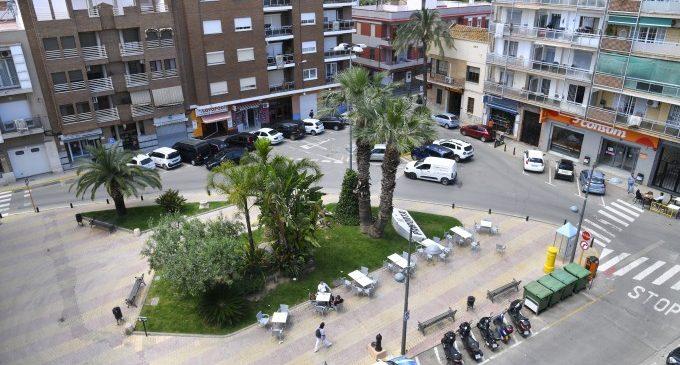 En marxa la conversió de la plaça de l'Església de Paiporta en espai compartit per a vianants