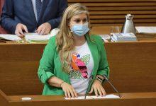 Ortíz s'estrena com a síndica recriminant a Puig que no haja protestat per la retallada del transvasament Tajo-Segura