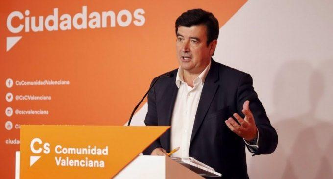 """Giner (Cs) censura que Ribó """"antepose els actes commemoratius del 15-M"""" al centenari per Blasco Ibáñez"""