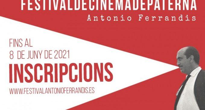 "El Festival de Cinema de Paterna ""Antonio Ferrandis"" anuncia una nova convocatòria del seu concurs de curts"