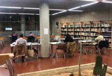 Paterna amplia l'horari de les Sales d'Estudi de les seues biblioteques