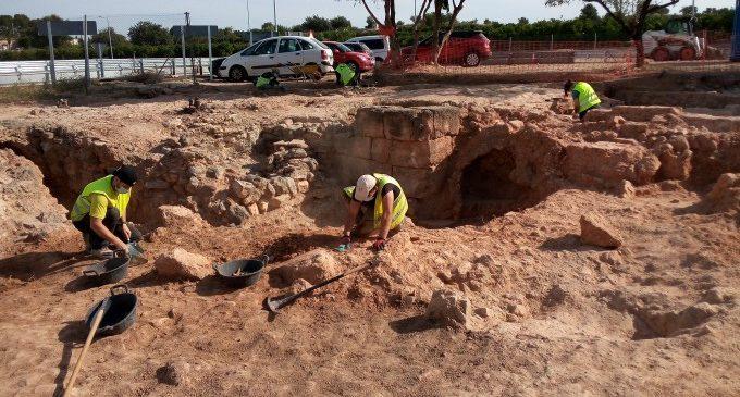 Llíria completarà els treballs d'excavació en el jaciment arqueològic Forns de Rascanya