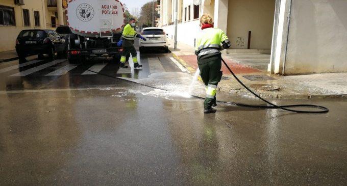 Paterna conclou la campanya de neteja intensiva