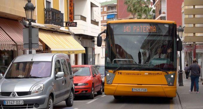 Noves ajudes per al transport públic per als estudiants de Paterna que cursen estudis superiors fora de la ciutat