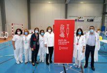 Benetússer inicia el seu Pla de vacunació massiva en el Poliesportiu Municipal