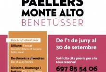 Benetússer inicia la temporada dels seus paellers de Muntanya Alta