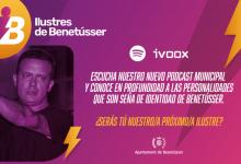 José Manuel Casañ protagonitza l'estrena del podcast 'Il·lustres de Benetússer'