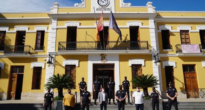 Burjassot incorpora huit nous agents de Policia Local a la seua plantilla