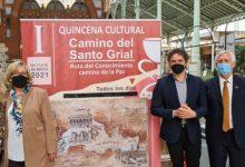"""Colomer: """"El Camí del Sant Greal és un recurs turístic de primer nivell que permetrà fer de València una ciutat referent en turisme cultural"""""""