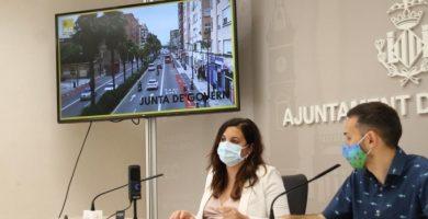 València aprueba el proyecto para recuperar espacio público en la avenida Pérez Galdós