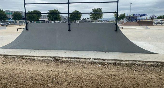 Xàtiva reabre este viernes el skatepark después de una reforma integral