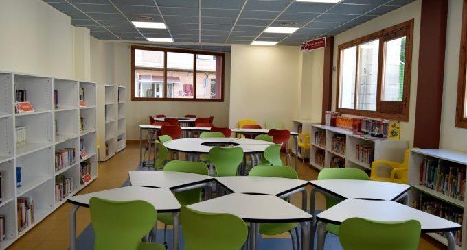 La biblioteca Infantil de Burjassot reabre puertas el próximo miércoles 26 de mayo