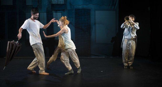 """L'espectacle """"Blowing"""" combinarà dansa, música en directe i tecnologia al Teatre Echegaray d'Ontinyent"""