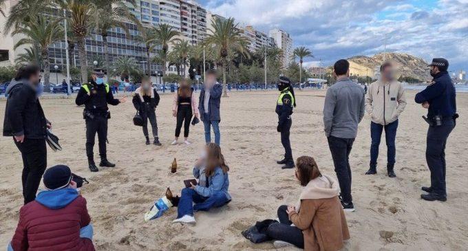 Intervenen sis macrobotellons durant la nit del dissabte en la Comunitat Valenciana