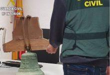 Recuperen una campana d'una ermita d'Alboraia robada fa 21 anys