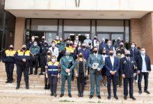 Almussafes despide oficialmente al ex capitán del Puesto Principal de la Guardia Civil, Javier Muñoz