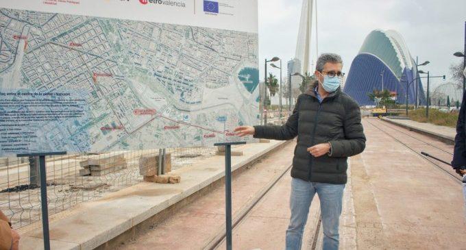 La Generalitat licita la redacción de los proyectos de la ampliación de la Línea 10 y construcción de las líneas 11 y 12 de Metrovalencia