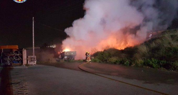 Sufoquen quatre incendis durant la matinada a Torrent, L'Olleria, Moncada i Paiporta